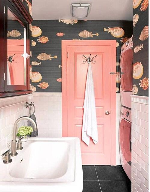 fishy downstairs cloakroom ideas