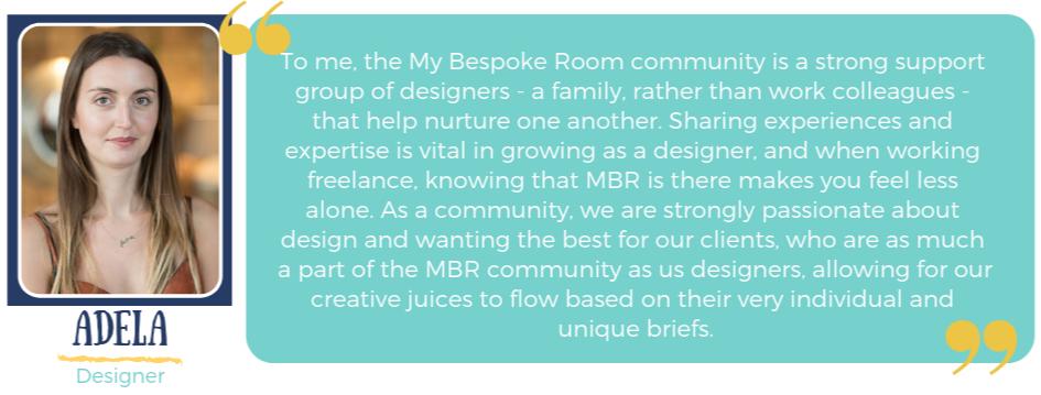 Adela MBR Community quote