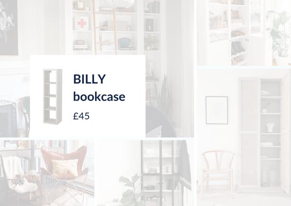 Billy bookcase ikea hacks