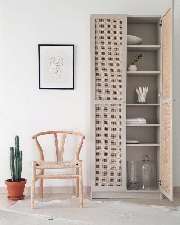 Ikea-Billy-Bookcase-Cane-Doors-Hack