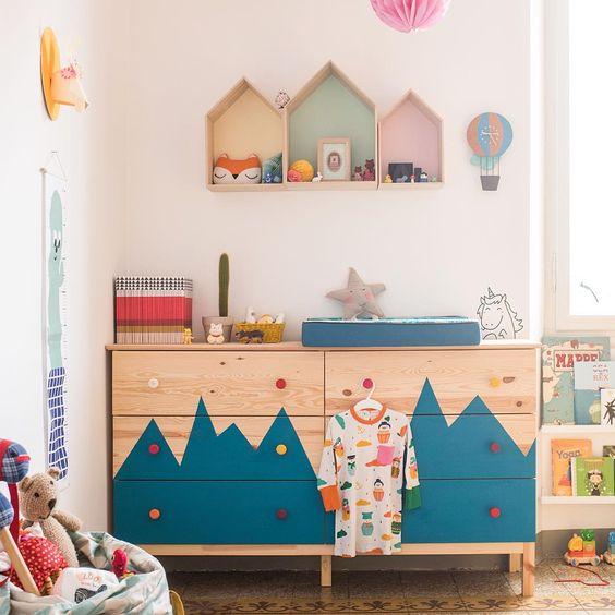 Ivar Ikea Hack for children's kids bedroom