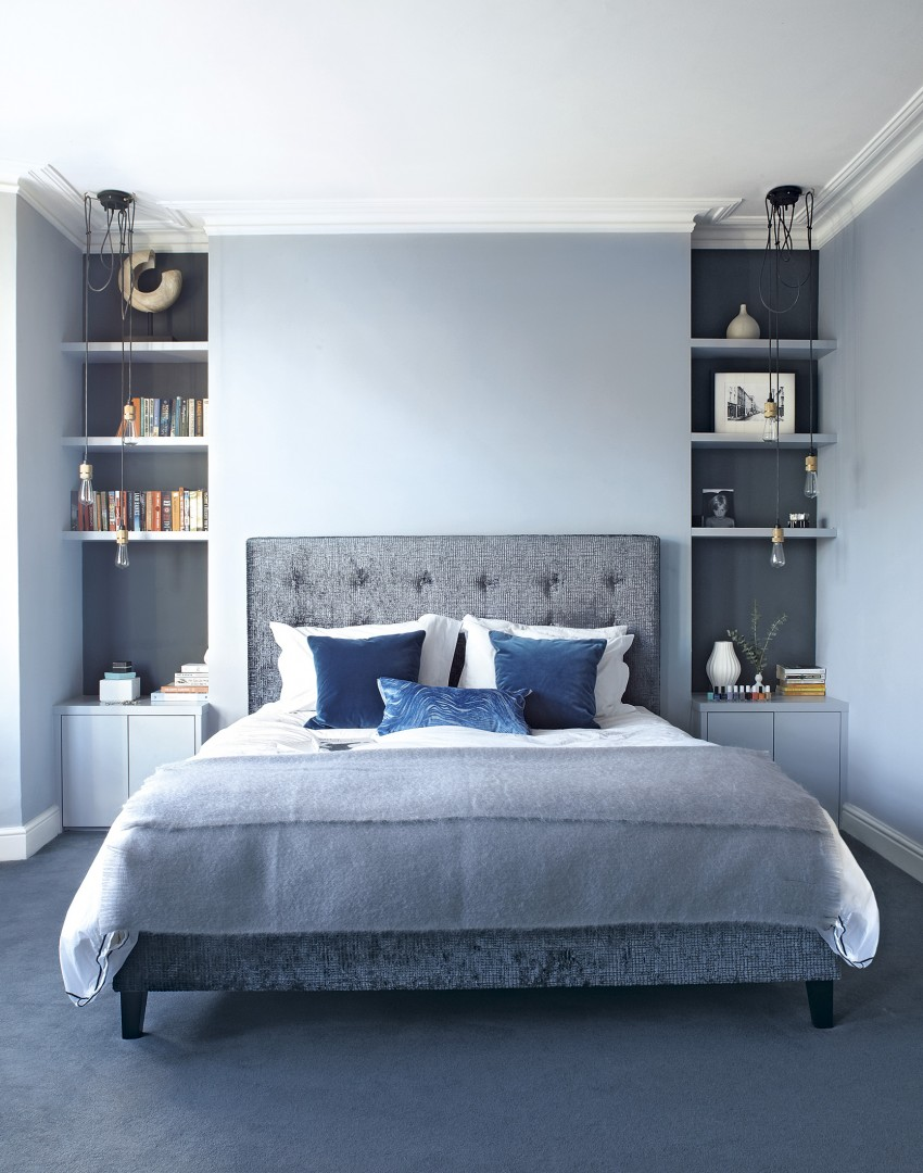 A-simplistic-light-blue-wall-will-keep-the-interior-refreshing-