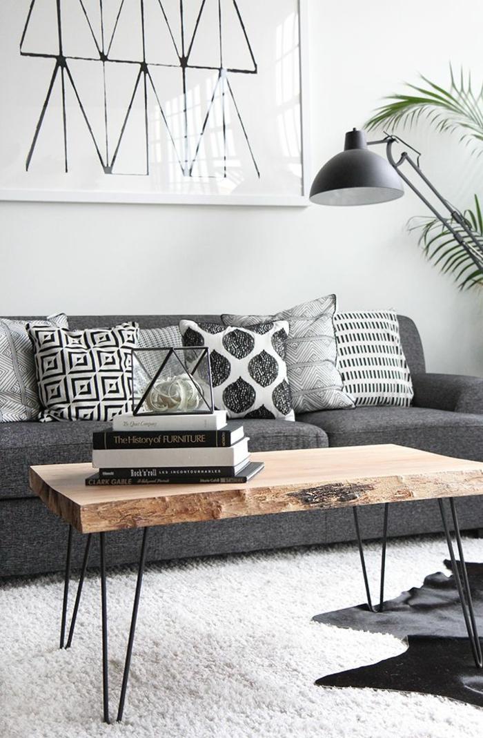 moderne-Wohnungseinrichtung-Wohnzimmer-Tische-Holz