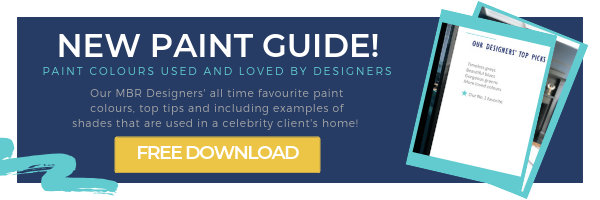 Paint guide banner