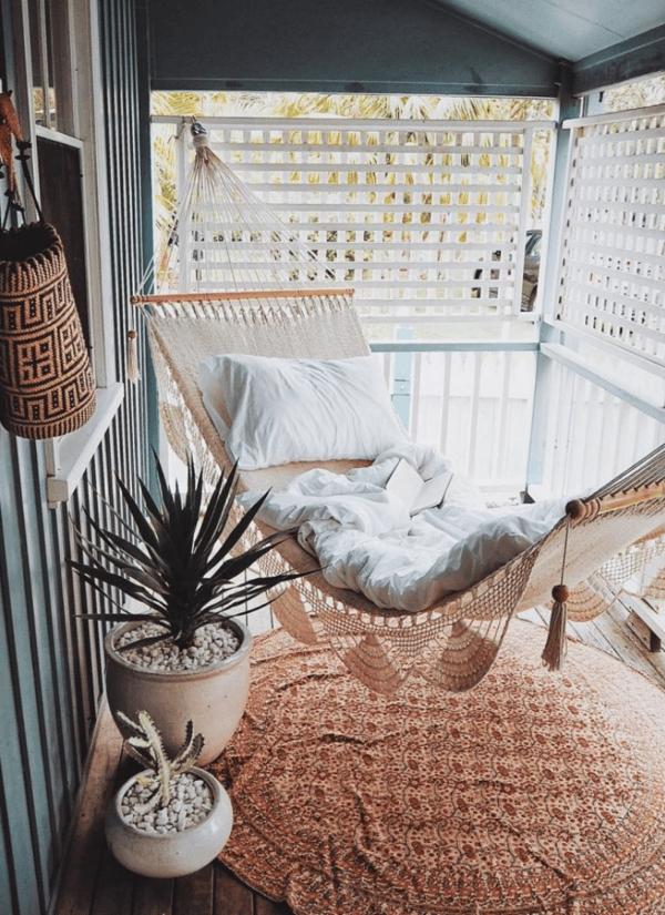 hammock balcony design ideas