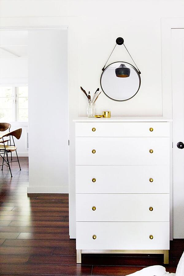 IVAR cabinet chest of drawers ikea hack