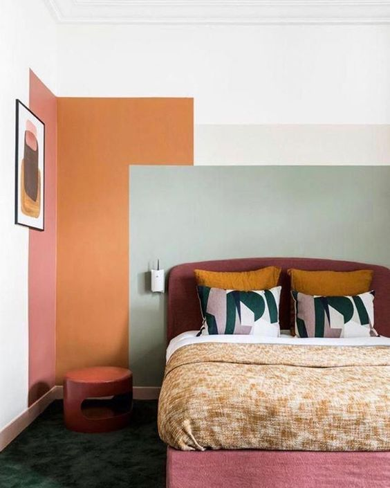 creative-wall-color-ideas-bedroom-living-room-kitchen-31