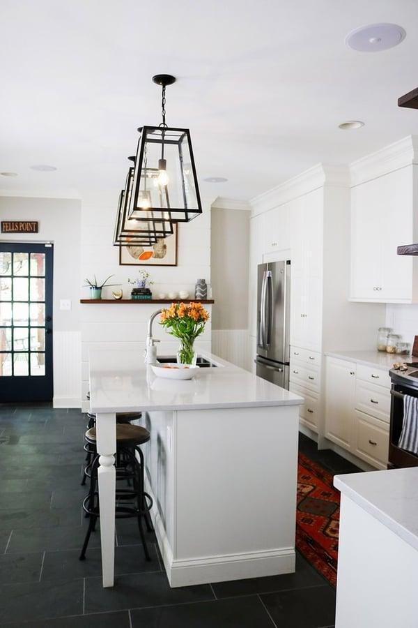 crown-moulding kitchen ikea hacks with bespoke island