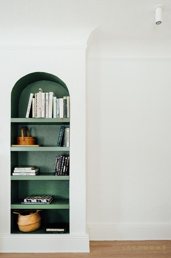 paint your shelving