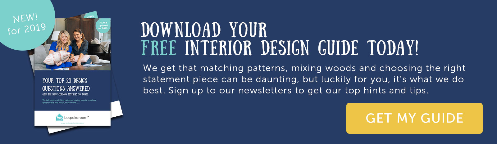 Download your free interior design guide today