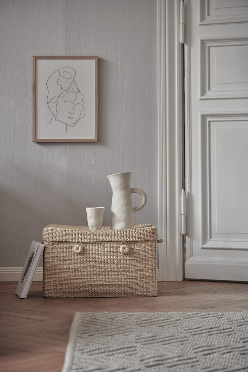 rattan box neutral natural interior urbanara